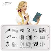 Plaque Stamping Scholar 02 - MoYou London