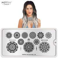 Plaque Stamping Henna 06 - MoYou London