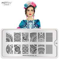 Plaque Stamping Mexico 04 - MoYou London
