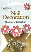 Nail Decoration Inlay Noeud papillon clear