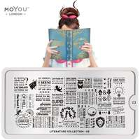 Plaque Stamping Literature 03 - MoYou London