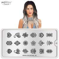Plaque Stamping Henna 02 - MoYou London