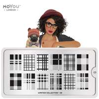 Plaque Stamping Hipster 05 - MoYou London