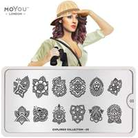 Plaque Stamping Explorer 03 - MoYou London