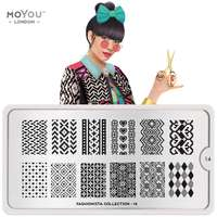 Plaque Stamping Fashionista 14 - MoYou London