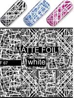 Water Decal F067 white