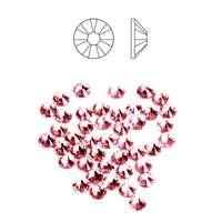 Swarovski Strass Rose 1,8 mm (40 pcs)
