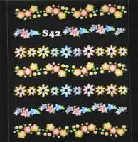 Sticker divers Summer-Flowers