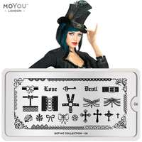 Plaque Stamping Gothic 06 - MoYou London