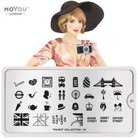 Plaque Stamping Tourist 01 - MoYou London