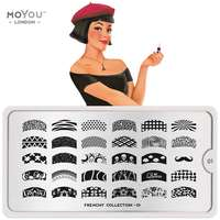 Plaque Stamping Frenchy 01 - MoYou London