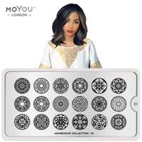 Plaque Stamping Arabesque 01 - MoYou London