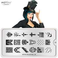 Plaque Stamping Gothic 05 - MoYou London