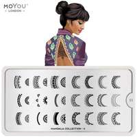 Plaque Stamping Mandala 11 - MoYou London