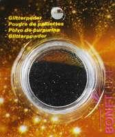 Boite de paillettes - Noir