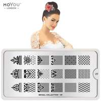 Plaque Stamping Bridal 09 - MoYou London