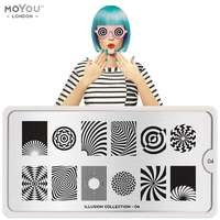 Plaque Stamping Illusion 04 - MoYou London