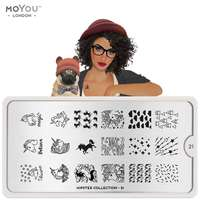 Plaque Stamping Hipster 21 - MoYou London