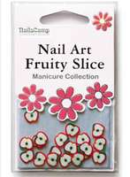Nailart Fruits (Apple) en sachet - 24 pièces