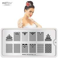 Plaque Stamping Bridal 10 - MoYou London