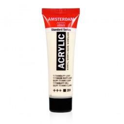 Couleur acrylique 20 ml titane clair